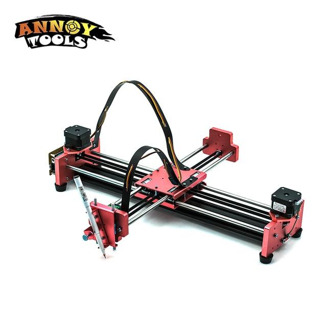 A3 Pro DIY All Metal Drawbot Pen Drawing Machine Lettering Robot Corexy XY-plotter CNC Draw Robot Kit Writing Robot Toys