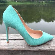 Free shipping fashion women Pumps Mint Green Snake printed Pointy toe high heels shoes size33-43 12cm 10cm 8cm party shoes вытяжка со стеклом maunfeld berta 90 нержавейка прозрачное стекло