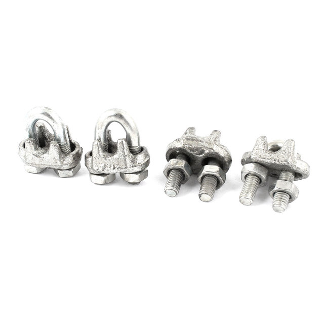 UXCELL 4 Pcs Threaded Metal 6Mm 15/64\