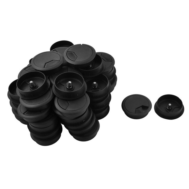 office cable tidy. UXCELL Color Office Round Shaped Desk Cable Tidy Wire Hole Cover Outlet Grommet Black 2 Inch