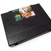 Новое поступление аркадная кассета черный 161 в 1 SNK NEO GEO AES мультиигровой картридж NeoGeo AES версия для семейной игровой консоли AES