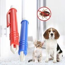 Tweezers Mite Anti Dog Ticks And Fleas Flea Tick Clip Remover Rabbit Removing Tool Hair Groom Care Product E