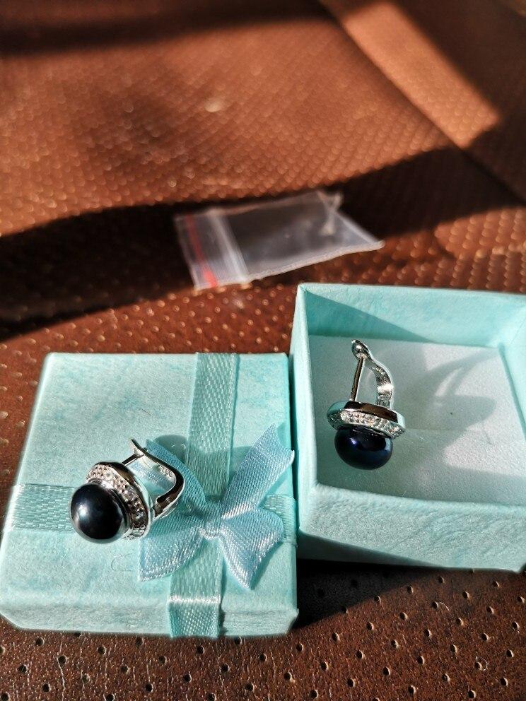 FENASY pearl jewelry natural pearl earrings freshwater pearl earrings for women 925 sterling silver ,new trendy Stud Earrings