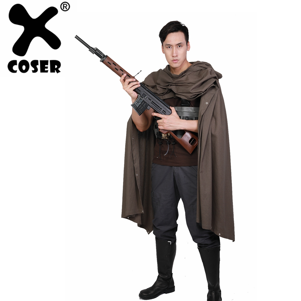 XCOSER Deadpool 2 Cable Cosplay Costume Brown Cotton & Terylene Costume 2018 New Arrival WCS Cosplay Costume For Professional