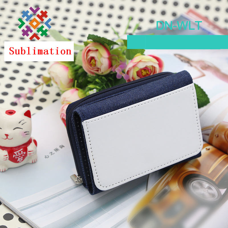 coin purse wallet for sublimation Cowboy oxford wallets for Heat Transfer Creative DIY material wholesale new