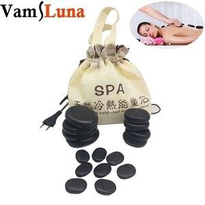 Image 1 - Набор камней для стоун массажа 16 шт