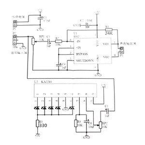 Image 5 - New Stylish Mini Individuality DIY Transparent Mini Amplifier Speaker Kit 65x65x70mm 3W Per Channel