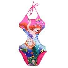 77ca3350f6 2018 New Mermaid Baby Girl Kids Swimsuit Bathing Tankini Bikini Set Swimwear  Beachwear(China)