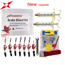 GEODASH High Quality For AVID SRAM DOT Oil Disc Brake Bleed Kit Tool For Formula Sram DODE JUICY HOPE BNGAL HAYES PRO MAX  440 bicycle hydraulic disc brake bleed kit tool for sram guide level avid elixir juicy code formula hygia usagi hayes eooz