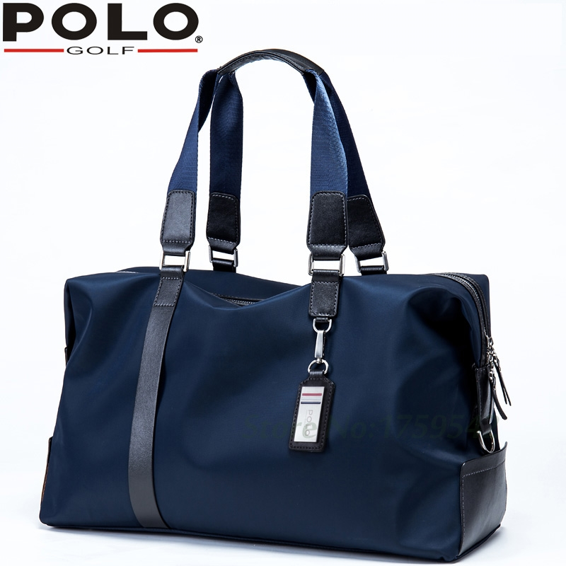 Polo New Golf Bag Men's Clothing Package PU Clothing Bag Large Capacity Light Travel Bag 2017 large capacity waterproof nylon golf boston bag travel clothing bag with separate golf shoes bag embroidery logo