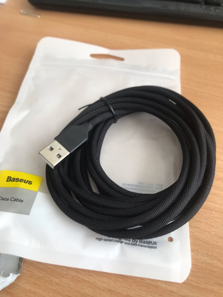 Baseus USB Cable For iPhone Xs Max Xr X 8 7 6 6s 5s se iPad Fast Charging Charger Mobile Phone Cable For iPhone Wire Cord 3m 5m-in Mobile Phone Cables from Cellphones & Telecommunications on AliExpress