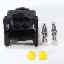 Лучшая цена 4/10 шт. EV1 женский топливный инжектор соединители форсунки/масла автомобиля 2 Pin Электрический провод автомобильного разъема для автомобилей