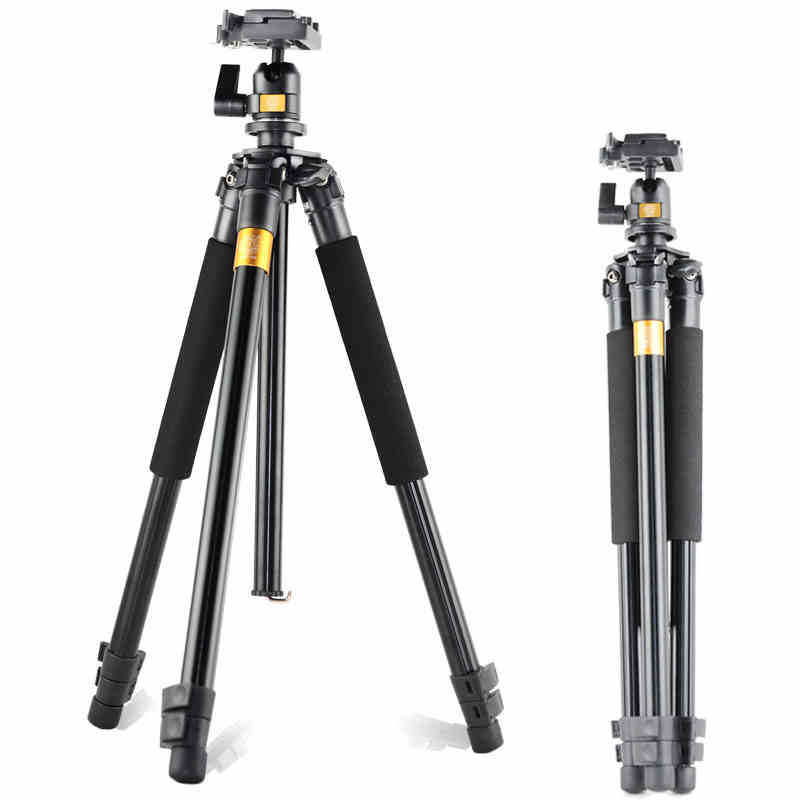 Professional Aluminum Magnesium DV tripod For DSLR Camera Traveler tripod with ball head design is the best choices for outdoor image