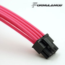 FormulaMod PCI 8Pin Motherboard Power Extension Cable 18AWG 8Pin Extension Cable for water cooling computer FMPCI8P-B