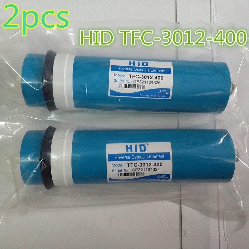 2pcs 400 gpd reverse osmosis filter HID TFC 3012 400G Membrane Water Filters Cartridges ro system