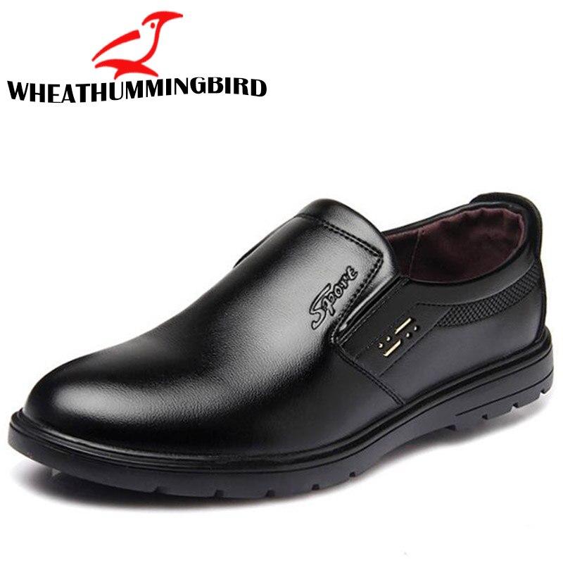 2018 Herren Loafer Weichen Leder Casual Herren Slip On Driving Schuhe Atmungsaktiv Papa Wohnungen Komfortable Casual Leder Schuhe Ra-38 Reisen