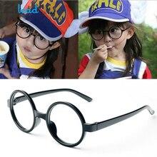Zilead милые детские круглые очки рамы дети сплошной цвет оправы для очков близорукие линзы рамка для мальчиков и девочек детские очки