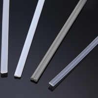 New Arrival 50PCS Plastic Welding Rods ABS/PP/PVC/PE Welding Sticks 200mm for Plastic Welding