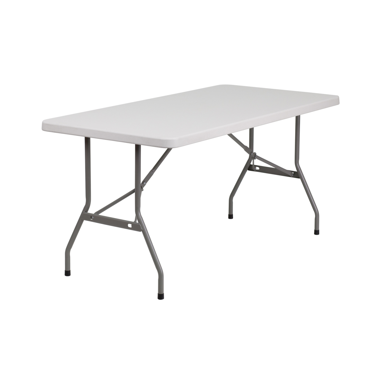 Flash Furniture 30''W x 60''L Granite White Plastic Folding Table [863-RB-3060-GG] гирлянда snowhouse сосульки rb oic100lse w ti4 white