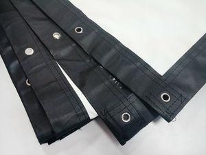 Image 5 - Vendite della fabbrica 100 pollici di schermo 4:3 Del Proiettore HD Schermo Portatile Piegato Anteriore tessuto schermo di proiezione con occhielli con Telaio