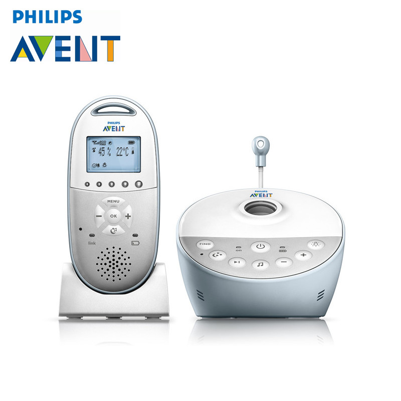 Baby Sleeping Monitor Philips Avent SCD580/00 digital baby monitor 1 set long distance max 70 times magnifier hd digital microscope telescope camera measurement monitor system freeshipping