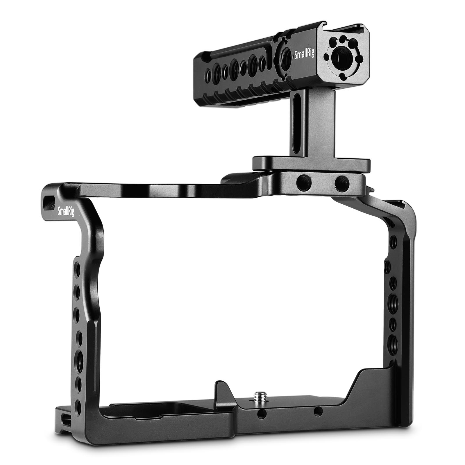 SmallRig Camera GH5 Dual Aluminum Cage kit For Panasonic Lumix GH5 / GH5S Form Fitting Cage with Top Handle Grip  2050
