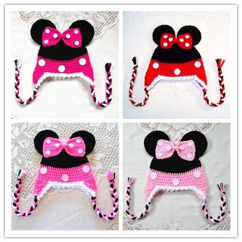 Baby Girls Boy Infantil Toddler Knitting Wool Crochet Photo Prop Costume Cap 100% cotton handmake hat TOP quality!