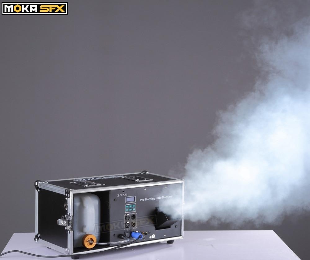 Image 5 - 1200W Haze Machine 5L Liquid Tank Fog Machine Pro Morning Haze Machine DMX 512 Smoke Machine For Stage Bar Disco DJ Equipment-in Stage Lighting Effect from Lights & Lighting
