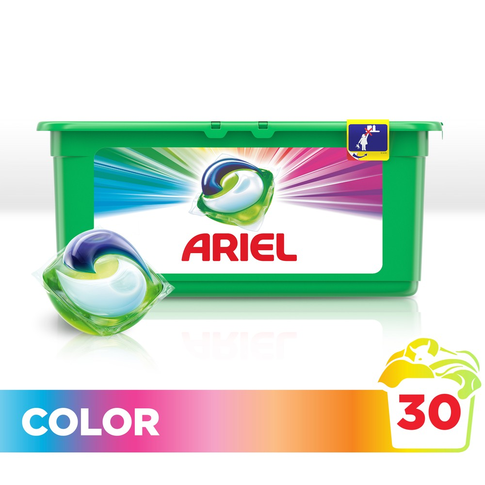 Washing Powder Capsules Ariel Capsules 3in1 Color (30 Tablets) Laundry Powder For Washing Machine Laundry Detergent cредство 8in1 nature s miracle laundry boost laundry stain