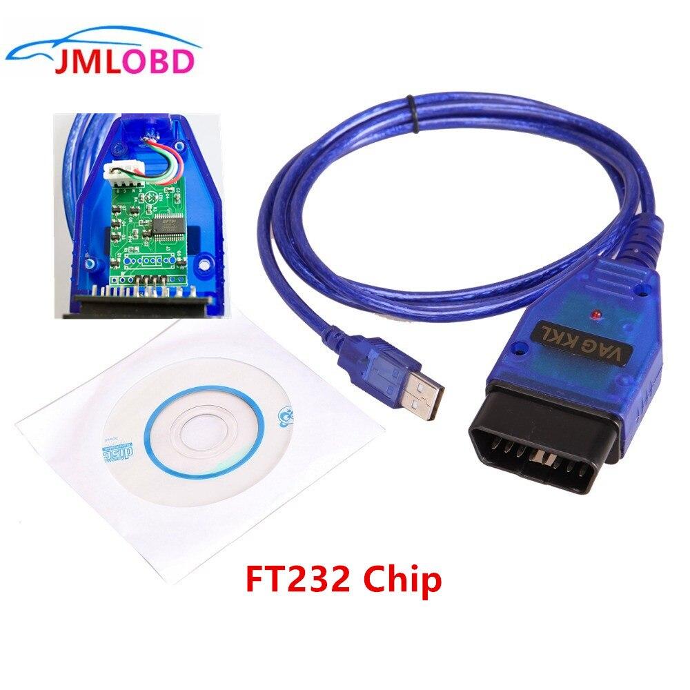 Livraison Gratuite Vag Com Câble Usb Scanner Diagnostique Automatique VAG409 USB FTDI232 Câble D'interface Easydiag Voiture Outil de Diagnostic Détecteur