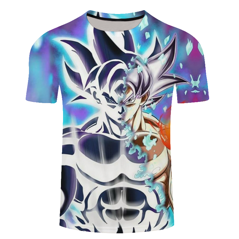 New Arrival Dragon Ball Fashion T Shirt Men/Women Goku Costume Men T-Shirt Anime Band Summer Dragonball Tshirt Fitness Clothing