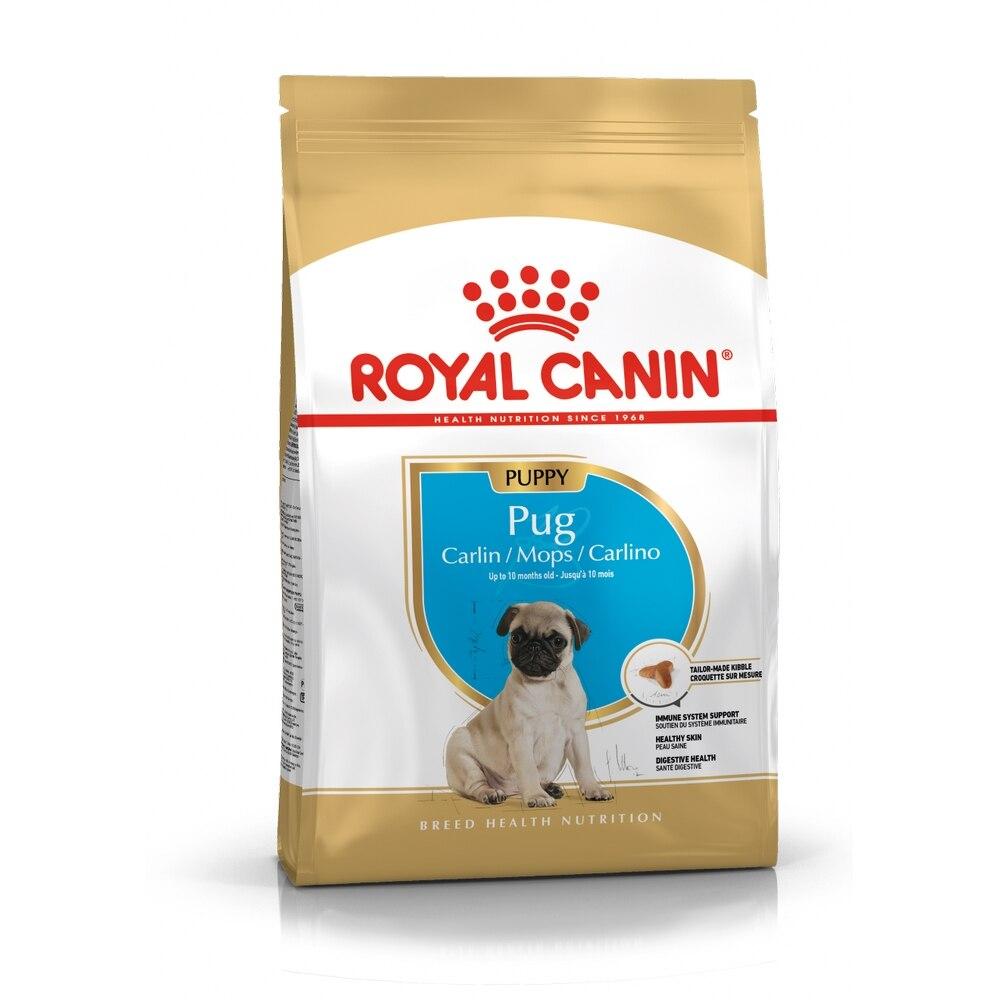 Royal Canin Pug Junior для щенков породы мопс, 1,5 кг