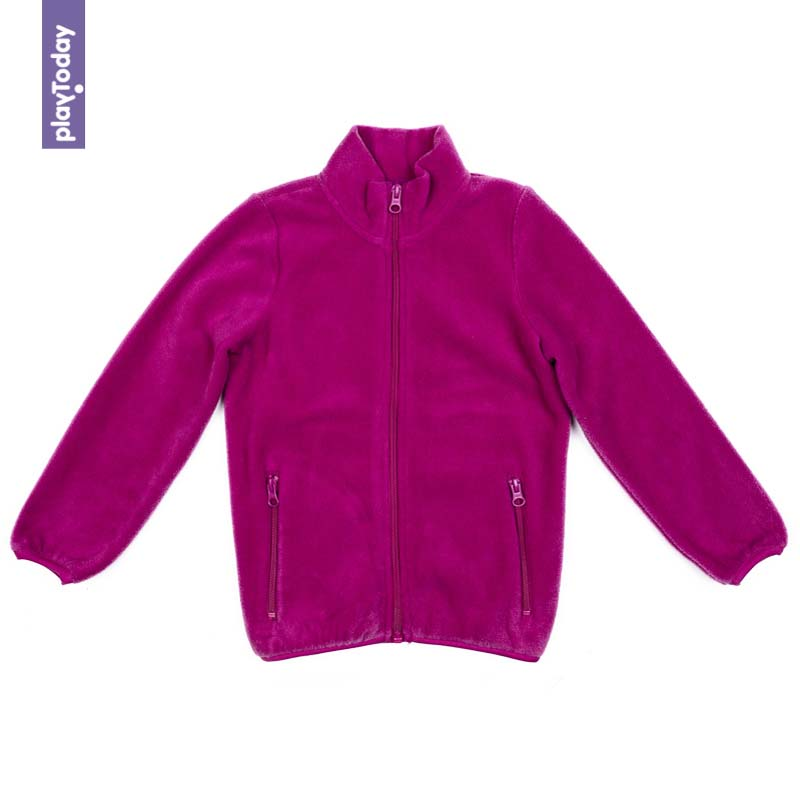 Hoodies and Sweatshirts PLAYTODAY for girls 372161 Children clothes kids clothes children s clothes wool sportswear spring and autumn suit floral embroidery 100