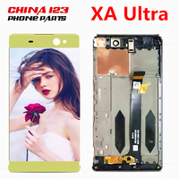 Warranty For SONY Xperia C6 XA Ultra LCD Display Touch Screen Digitizer Assembly Replacement F3211 F3213