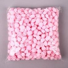 Сделай Сам, 4 цвета, 500 шт, розовый медведь, розовая собака, набор, светодиодный, роза, плюшевый медведь, роза, медведь, форма, модель, подарок на день Святого Валентина, подарок для девушки