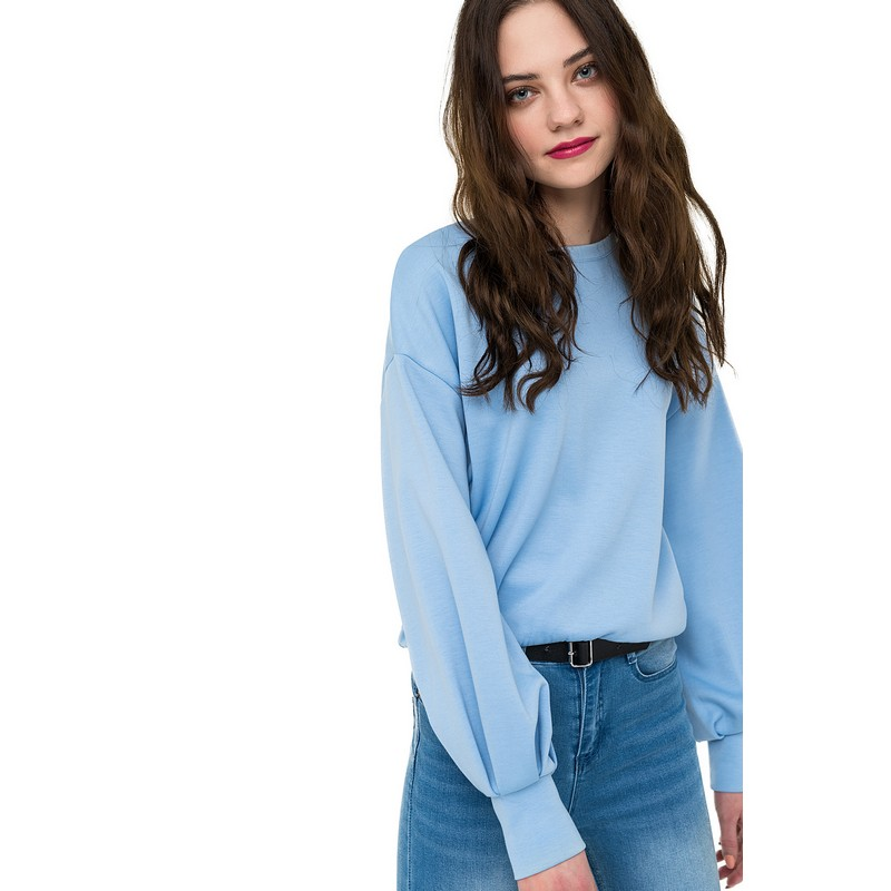 Sweaters jumper befree for female polyester sweater long sleeve women clothes apparel  turtleneck pullover 1811337471-41 vintage faux leather rhinestone leaf sweater chain for women