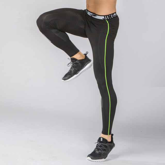 a0e7409ee7 Men Women Compression Running Tights Sports Skins Running Pants Quick Dry  Fitness Gym Yoga Football Training Tights Leggings