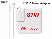RsFow 87W USB C Power Adapter Charger With Logo Type C For Macbook Pro 15inch A1706