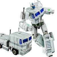 Kbb形質転換白op司令MP10V合金金属クラシックコレクションvoyagerリュックロボットアクションフィギュアのおもちゃ