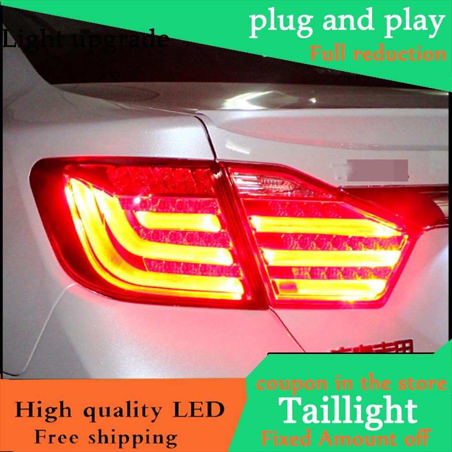Car Styling Tail Lamp For Toyota Camry V50 Tail Light Assembly 2012 2013 2014 Rear Lamp