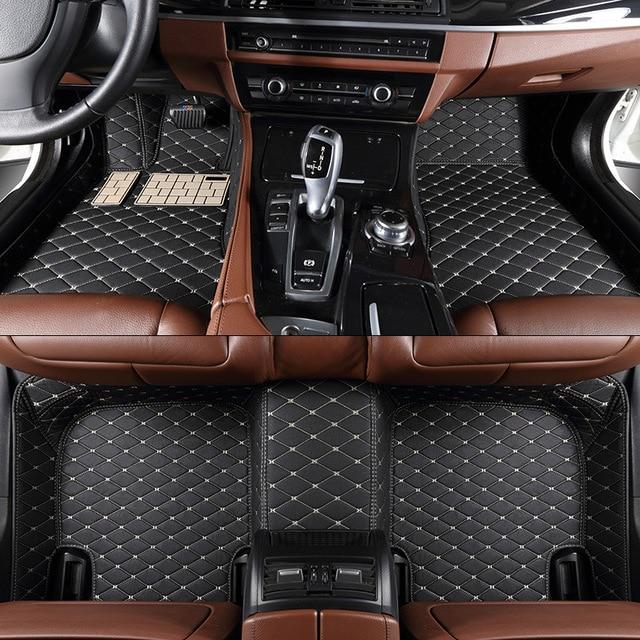 ZHIHUI Custom Car Floor Mats For BMW X1 X3 X4 X5 X6 M4 M5 M6 2010