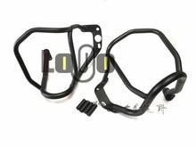 Engine Guard Highway Crash Protector Bars for BMW R1200R 2007-2014 Black