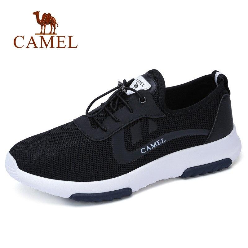 CAMEL hommes chaussures de marche Sport mode coréen chaussures en maille respirant hommes baskets chaussures de Sport pour courir chaussures de plein air