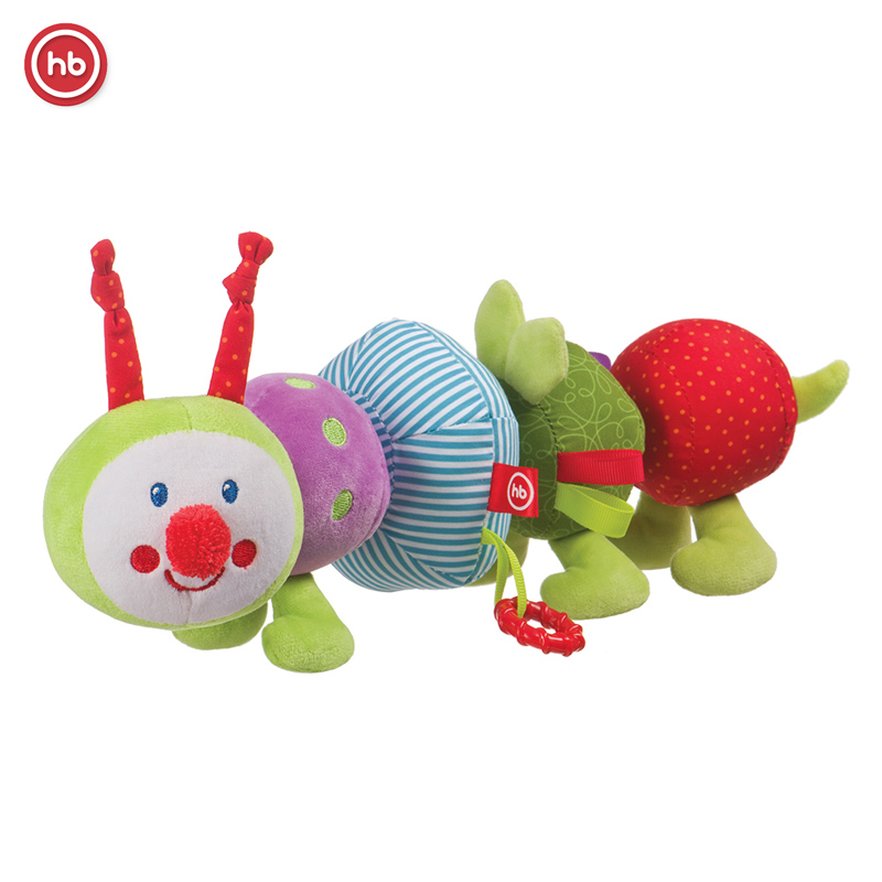 caterpillar transformer-educational toy Happy Baby IQ-CATERPILLAR развивающая игрушка happy baby iq caterpillar