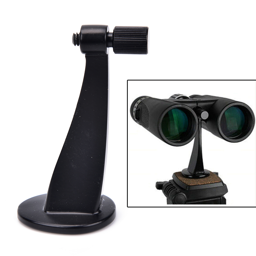Metal Black Universal Ful Binoculars Telescope Tripod Adapter Standard Fit / Fits All Standards Hot