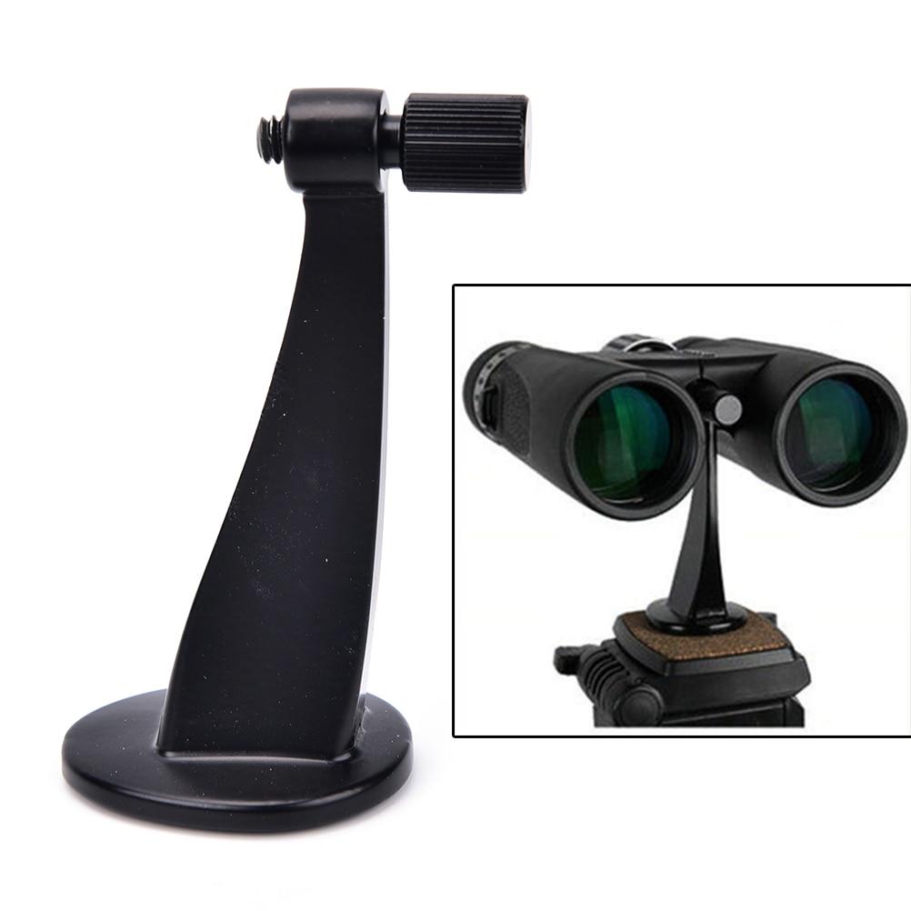 Metal Black Universal Ful Binoculars Telescope Tripod Adapter Standard Fit / Fits All Standards Hot
