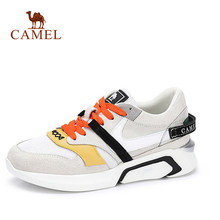 24b2590c7 CAMEL/новые женские корейские кроссовки на высокой платформе для тенниса, женская  модная повседневная обувь