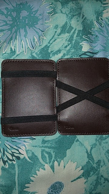 Men's Faux Leather ID Credit Card Holder Business Pocket Wallet Purse photo review