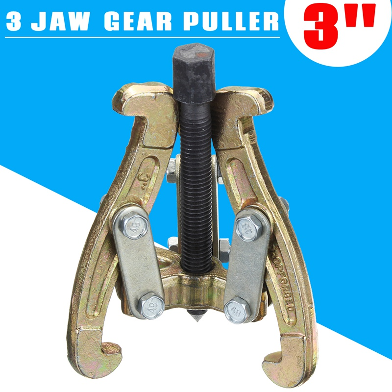 цена на Doersupp 75mm 3 Jaw Bearing Puller Auto Gear Remover Pulling Extractor Reversible Legs Car Van Wheel Gear Pulleys Remover Tools