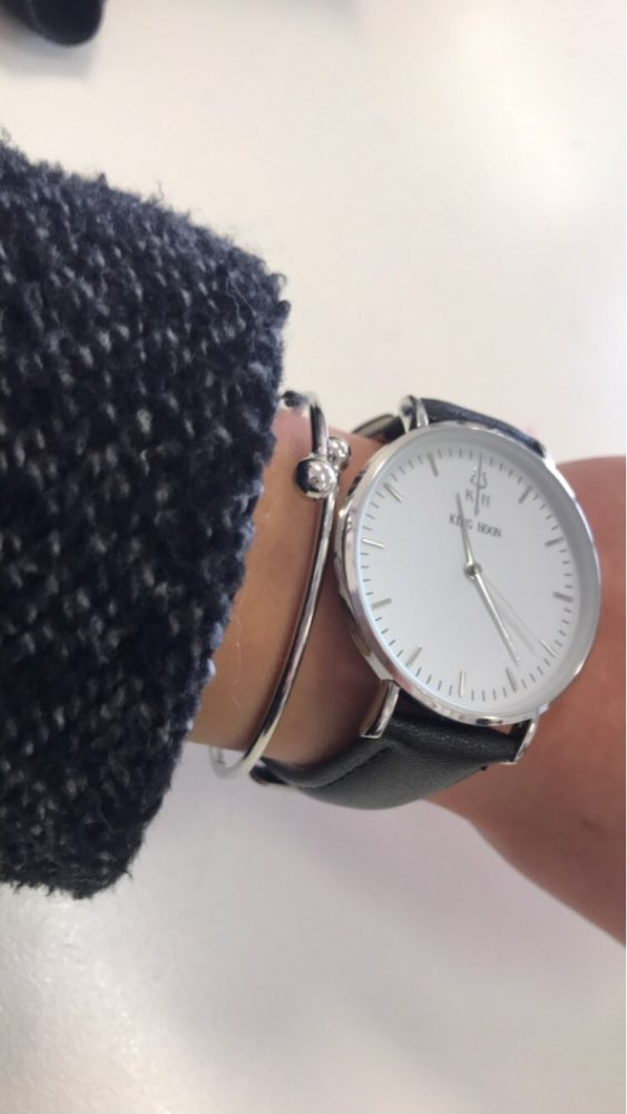 watches manchester womens of front minimalist blip the view silver reverse strap dial watch mens and a milanese steel with black by newgate mesh
